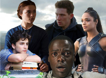 five film characters in an image together