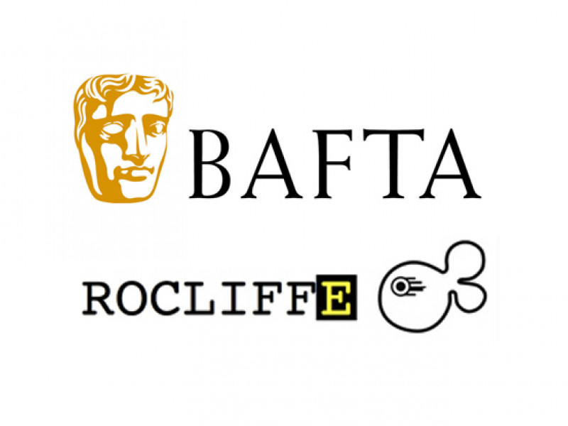 BAFTA and Rocliffe logos